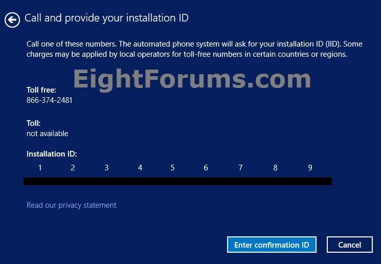 Activate Windows 8 by Phone | Windows 8 Help Forums