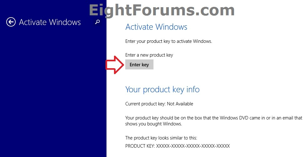 windows 8.1 activation key ending d3vpt