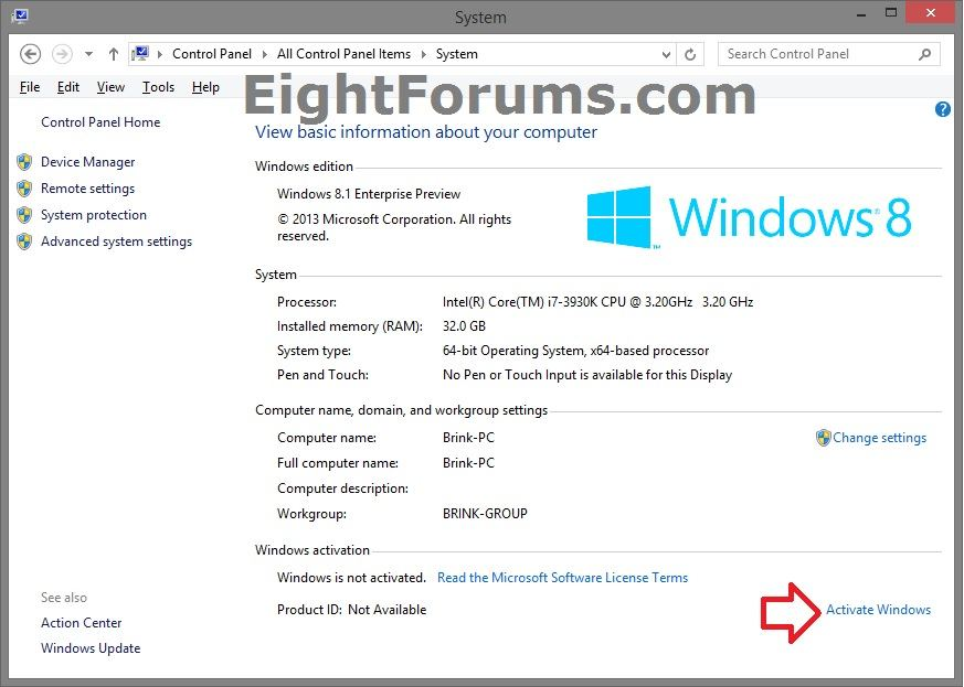 how to activate windows 8.1 free download