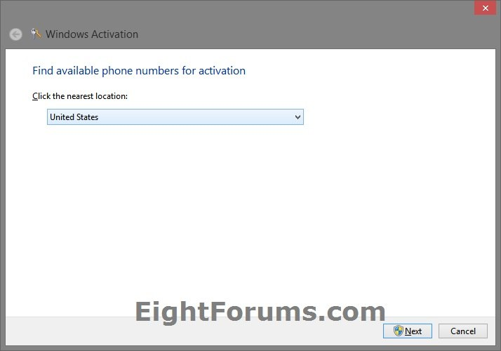 windows telephone activation south africa