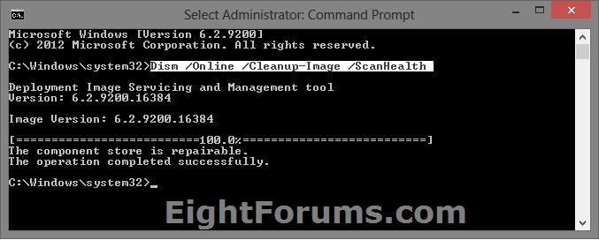 DISM - Fixing Component Store Corruption in Windows 8 | Windows 8