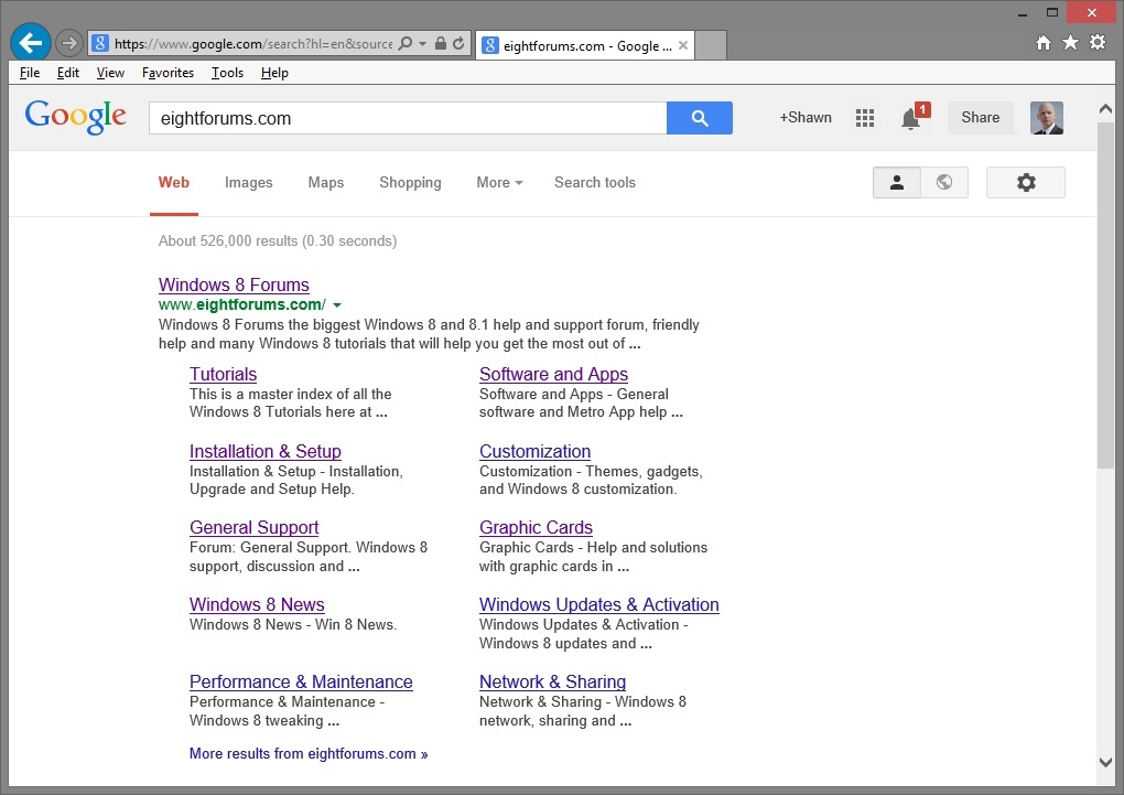 Google Search Display Issue in Internet Explorer 11 - Fix