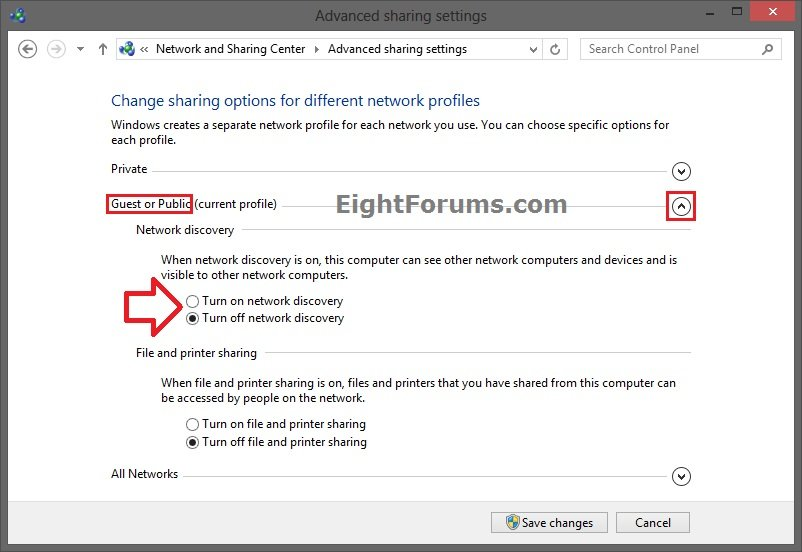 Network Discovery - Turn On or Off in Windows 8 | Windows 8 Help Forums