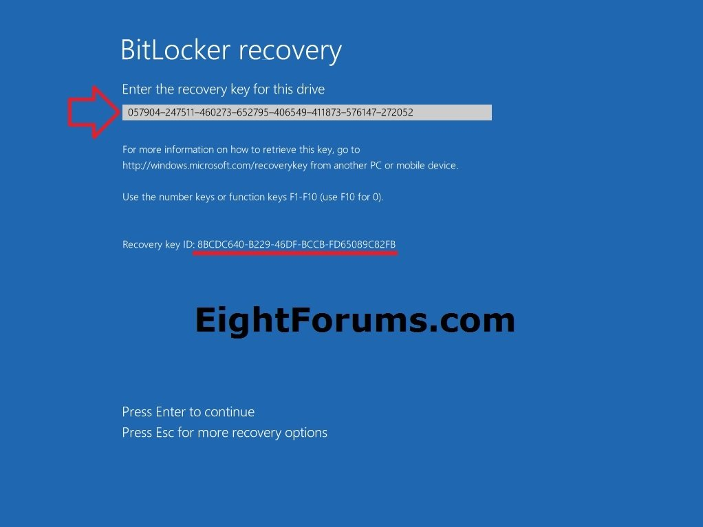 BitLocker Recovery - Unlock a Drive in Windows 8 | Windows 8