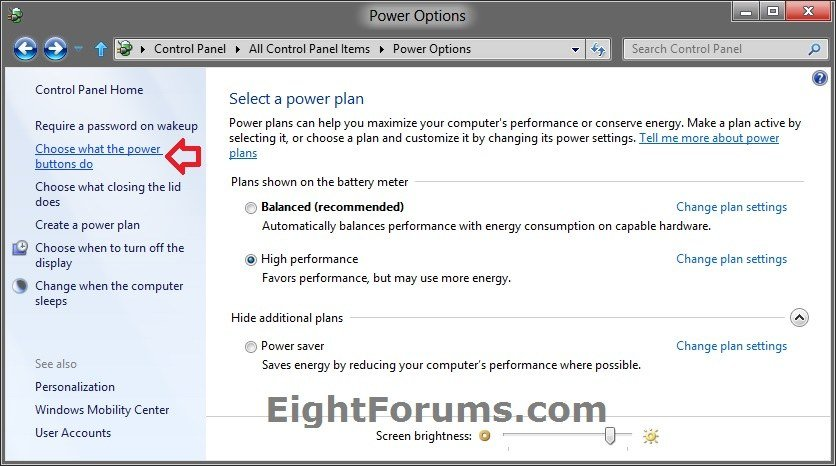 Fast Startup - Turn On or Off in Windows 8 | Windows 8 Help Forums
