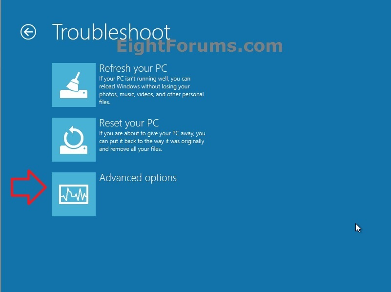 windows 8 command prompt without login