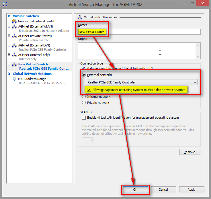 Hyper-V Virtual Switch Manager | Windows 8 Help Forums