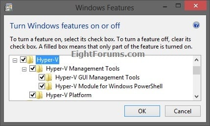 Hyper-V Manager - Add to Control Panel in Windows 8 | Windows 8 Help