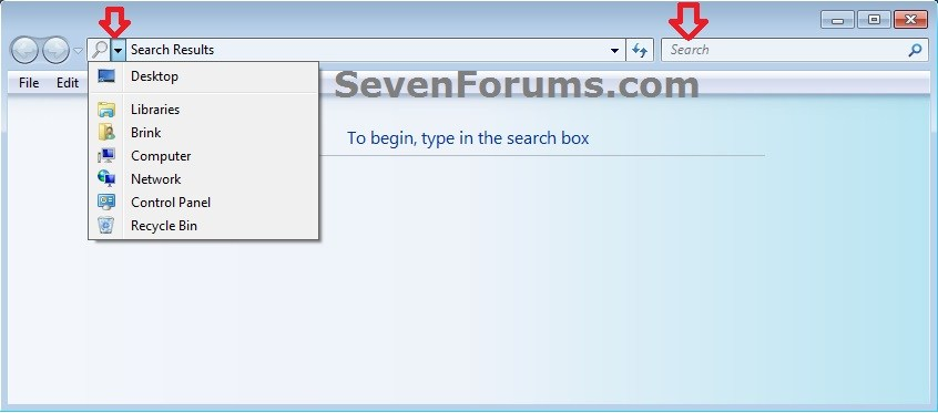 Search - Add to Context Menu in Windows 7 and Windows 8   Windows 8