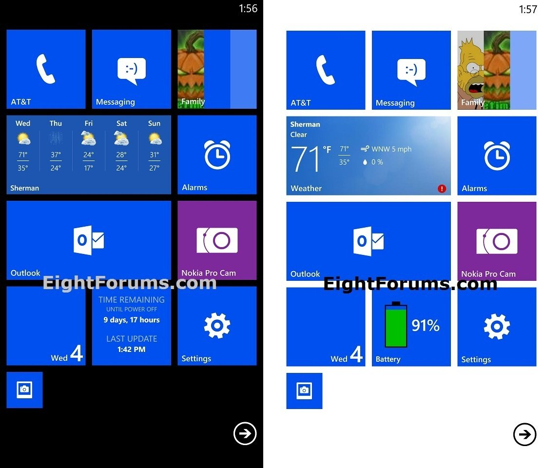 Windows Phone 8 Accent Color and Background Theme - Change
