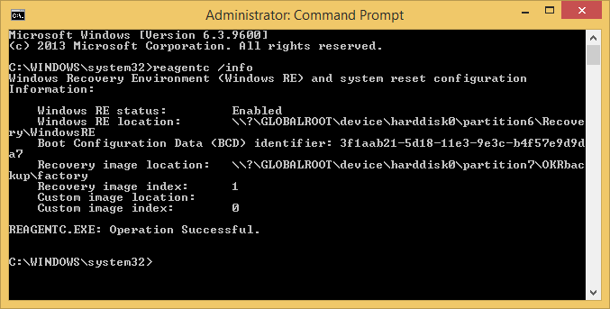 Windows 8.1 - reagentc info.png
