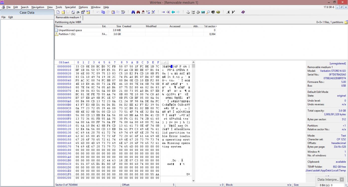 WinHex Output (test disk + bitlocker).png