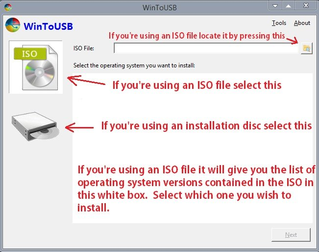 WinToUSB - Install and Run Windows on a USB Drive | Windows